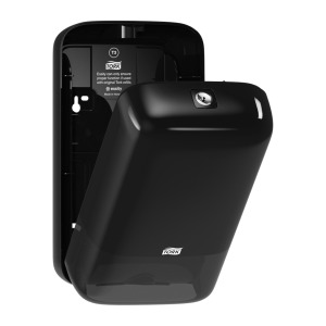 Tork Folded Toilet Paper Dispenser Black