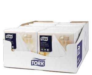 Tork Linstyle® bílý ubrousek – večeře