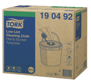 Tork Low-Lint Cleaning Handy Bucket