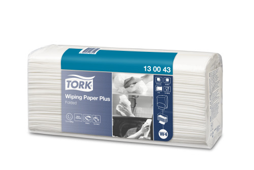 Tork®  Wiping Paper Plus Folded