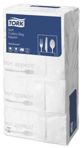 Tork Soft Bon Appetit Cutlery Pocket Napkin