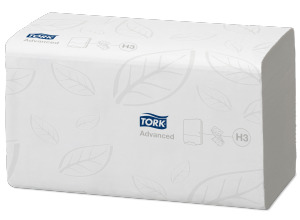 Tork®  Flushable Singlefold Hand Towel Advanced