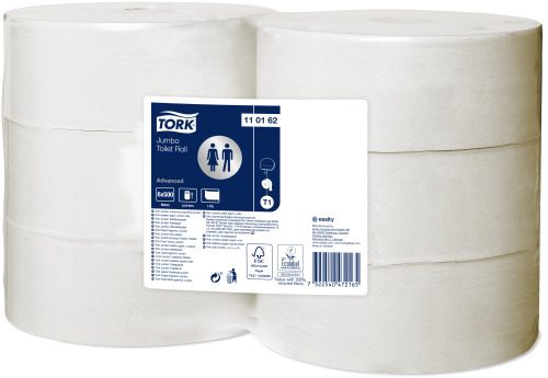 Tork 1-lags Jumbo Toiletpapir Advanced