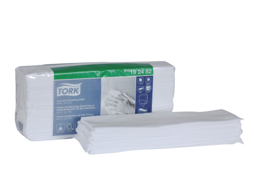 Tork Low-Lint Cleaning Cloth, Top-Pak