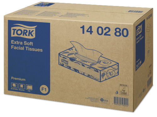 Pañuelos faciales extrasuaves Tork Premium
