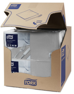 Tork Soft Grey Lunch Napkin