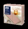 Tork Premium LinStyle® Middagsservett Korall 1/8-vikt