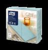 Tork Premium Linstyle® Aqua Blue Dinner Napkin 1/8 Folded