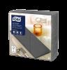 Tork Premium LinStyle® Middagsservett Antracit 1/8-vikt