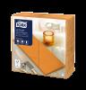 Tork Premium LinStyle® Middagsservett Orange 1/8-vikt