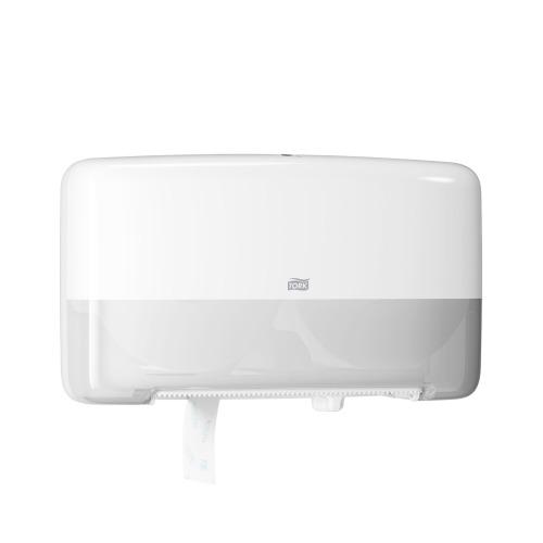 Tork Twin Mini Jumbo Bath Tissue Roll Dispenser 5555200