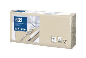«Tork Natural» pusdienu salvete arreciklēšanas marķējuma iespiedumu,ar 1/4locījumu