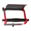 Tork Wall Stand Red/Smoke