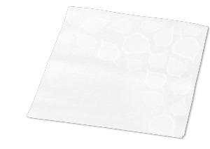 Tork Xpressnap Snack® Extra Soft Serviet med bladmønster, Hvid