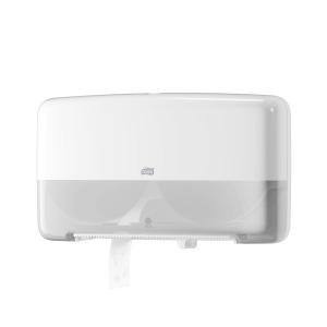 Despachador Tork Elevation® Jumbo de Higiénicos Mini Twin, Blanco