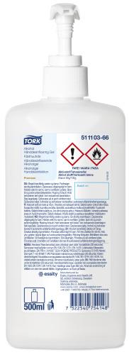 Tork Hånddesinfiserende Alkoholgel 500 ml (biocid)