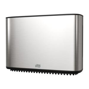 Tork Mini Jumbo Bath Tissue Dispenser, Stainless Steel