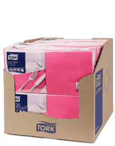 Tork Serviette Lunch, Rose fuchsia