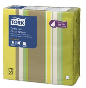 Tork Premium Textile Feel Natural Milano Dinner Napkin