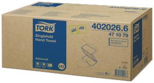 Tork Singlefold Hand Towel Advanced