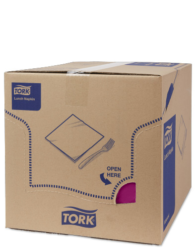 Tork Purple Lunch Napkin