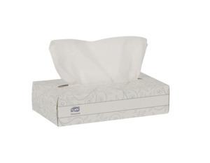 Tork Universal Facial Tissue Flat Box