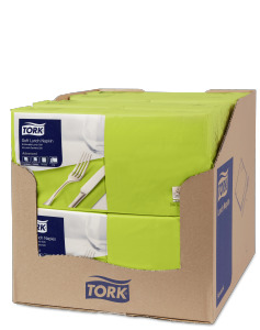 Tork Soft Lime Lunch Napkin