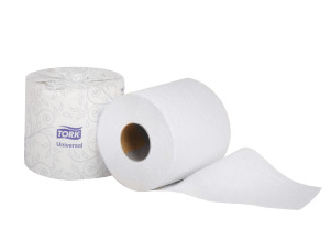 Tork Universal Bath Tissue Roll, White
