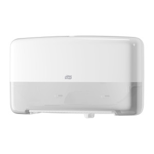 Tork Twin Mini Jumbo Toilet Roll Dispenser