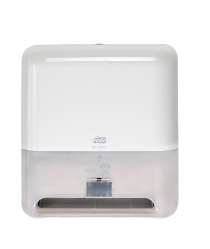 Tork Dispensador Elevation® Toalla en Rollo Blanco con Sensor Intuition™