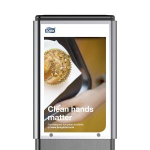 Informationsfönster – Tillbehör till Tork Hygienställ