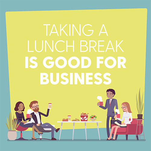 Taking A lunch Break 11 x 17