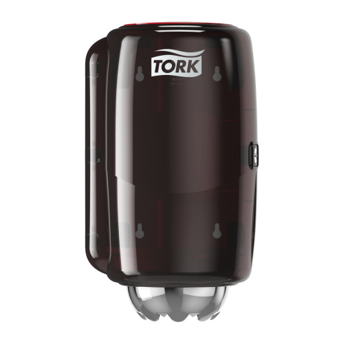 Tork Mini Centrefeed Dispenser Red/Smoke