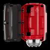 Tork Mini Centrefeed Dispenser Red/Smoke