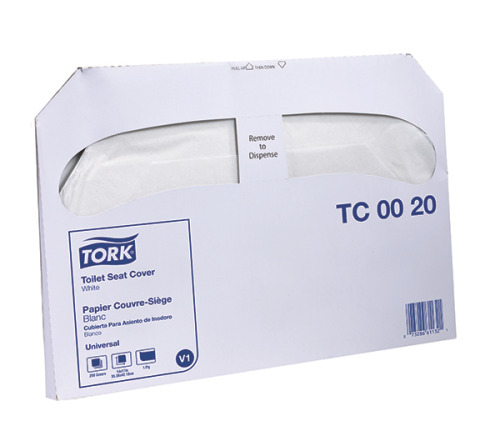 Tork Universal Toilet Seat Cover, 1/2 Fold