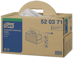 Tork®  Industrial Cleaning Cloth Folded Handy Box