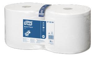 Tork Papier d'Essuyage Basic 2 plis