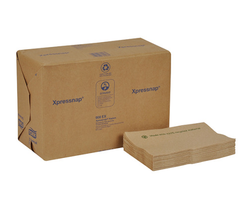 Tork Universal Xpressnap® Environmental Print Dispenser Napkin, Interfold