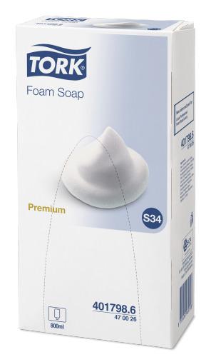 Tork Foam Soap non-perfumed 800 ml