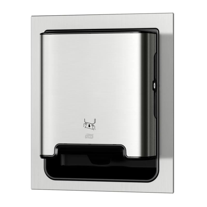 TRK461022 Recessed Electronic Roll Towel Dispenser