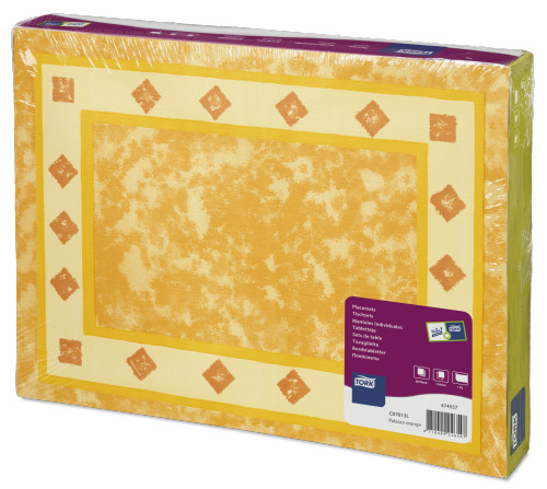 Tork Palazzo narančasti papirnati podmetač