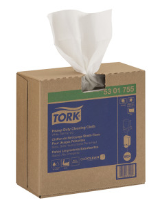Tork Heavy-Duty Cleaning  Cloth, Pop-Up Box