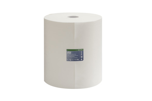 Chiffon simili-tissu de nettoyage Tork pour usages robustes, rouleau géant