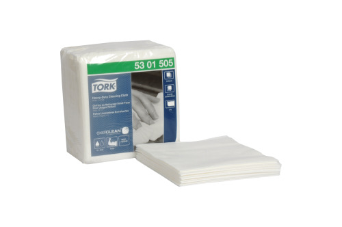 Tork Heavy-Duty Cleaning Cloth, 1/4 Fold