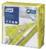 Tork Textured Lime Dinner Napkin