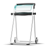 Tork Floor Stand White/Turquoise