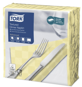 Tork Textured samppanja Dinner-lautasliina