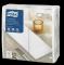 Tork Premium LinStyle® valge 1/8 volditud õhtusöögisalvrätik