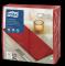 Tork Premium Linstyle® punane 1/8 volditud õhtusöögisalvrätik