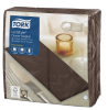Tork Premium Linstyle® Cocoa Dinner Napkin 1/8 Folded
